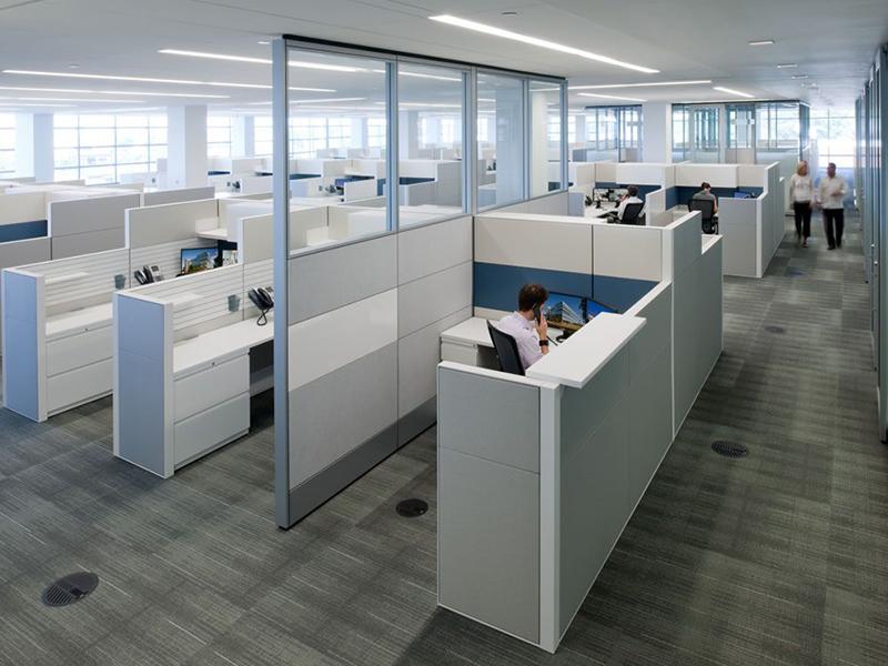 las ventajas de utilizar separadores de oficina